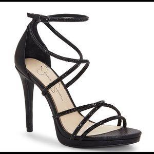 Jessica Simpson Jaeya Rhinestone Strappy Sandals